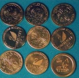 """""""Kristallwelten Coins from Swarovski"""""""