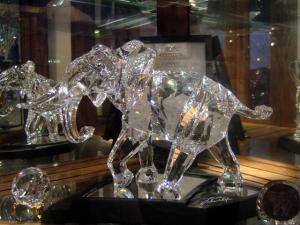 """The Swarovski NLE Elephant"""