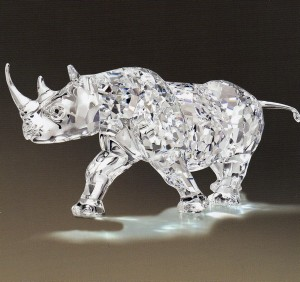 """The Swarovski NLE Rhinoceros"""