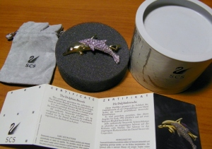 """Annual Edition Dolphin Brooch"""
