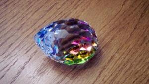 """Egg Paperweight - Bermuda Blue"""