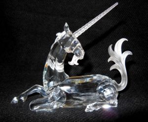 """Swarovski 1996 Annual Edition Unicorn"""