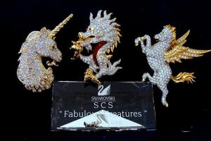 """1996 - 1998 Fabulous Creatures Brooches"""