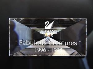 """Fabulous Creatures Plaque"""