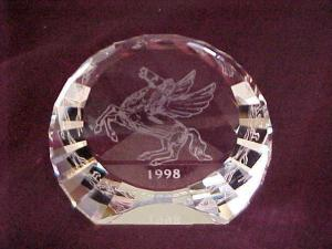 """Annual Edition Pegasus Paperweight Disc"""