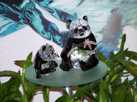 """""""Swarovski 2008 Annual Edition Pandas"""""""