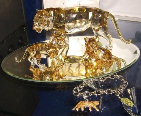 """Swarovski Annual Edition Tigers"""