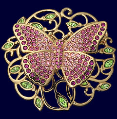 """Swarovski 2002 Annual Edition Brooch - Beauty"""