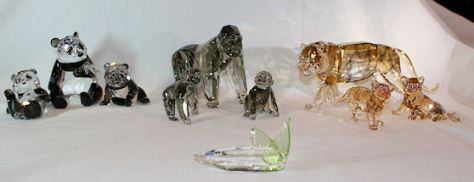 """Related Items for the Swarovski Endangered Wildlife Trilogy"""